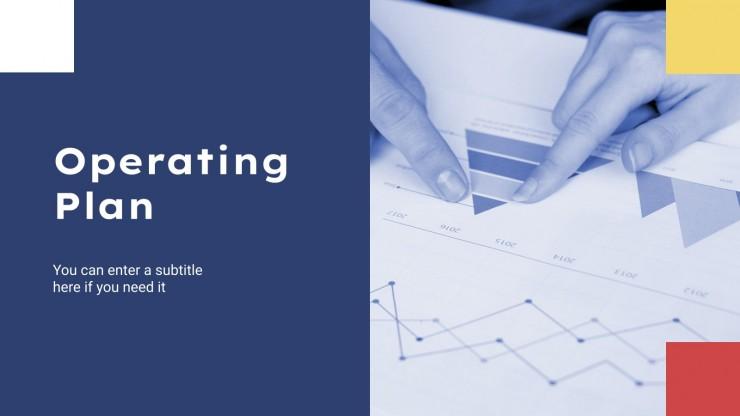 Professioneller Businessplan Präsentationsvorlage