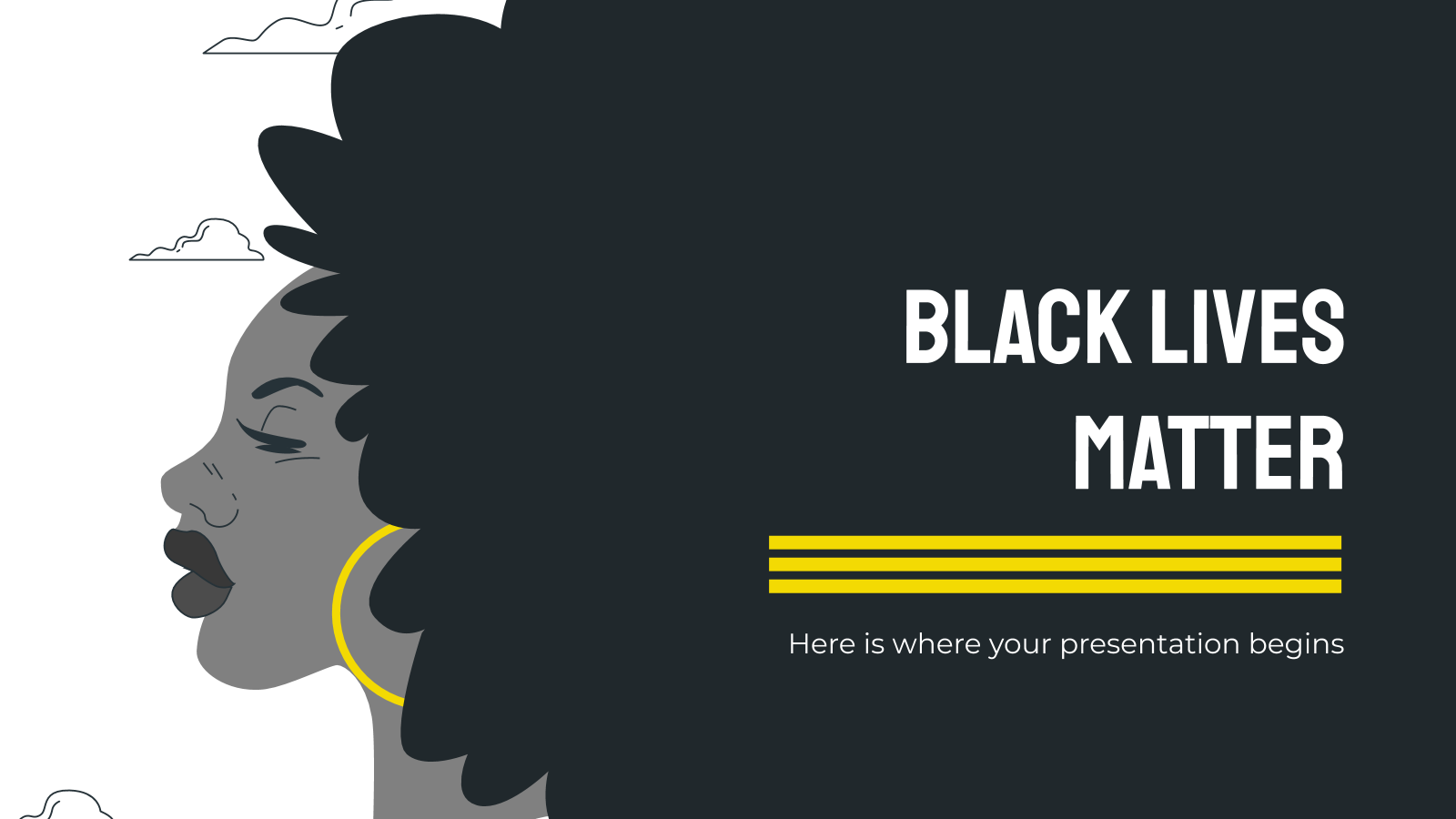 Black Lives Matter presentation template