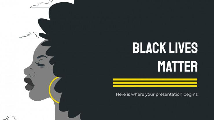 Plantilla de presentación Black Lives Matter