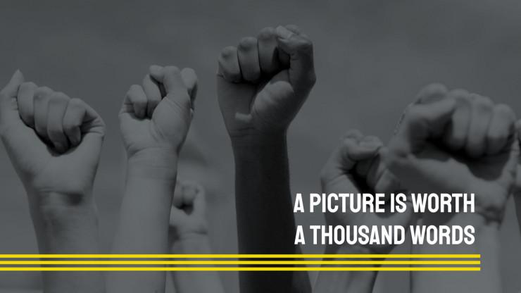 Black Lives Matter : Modèles de présentation