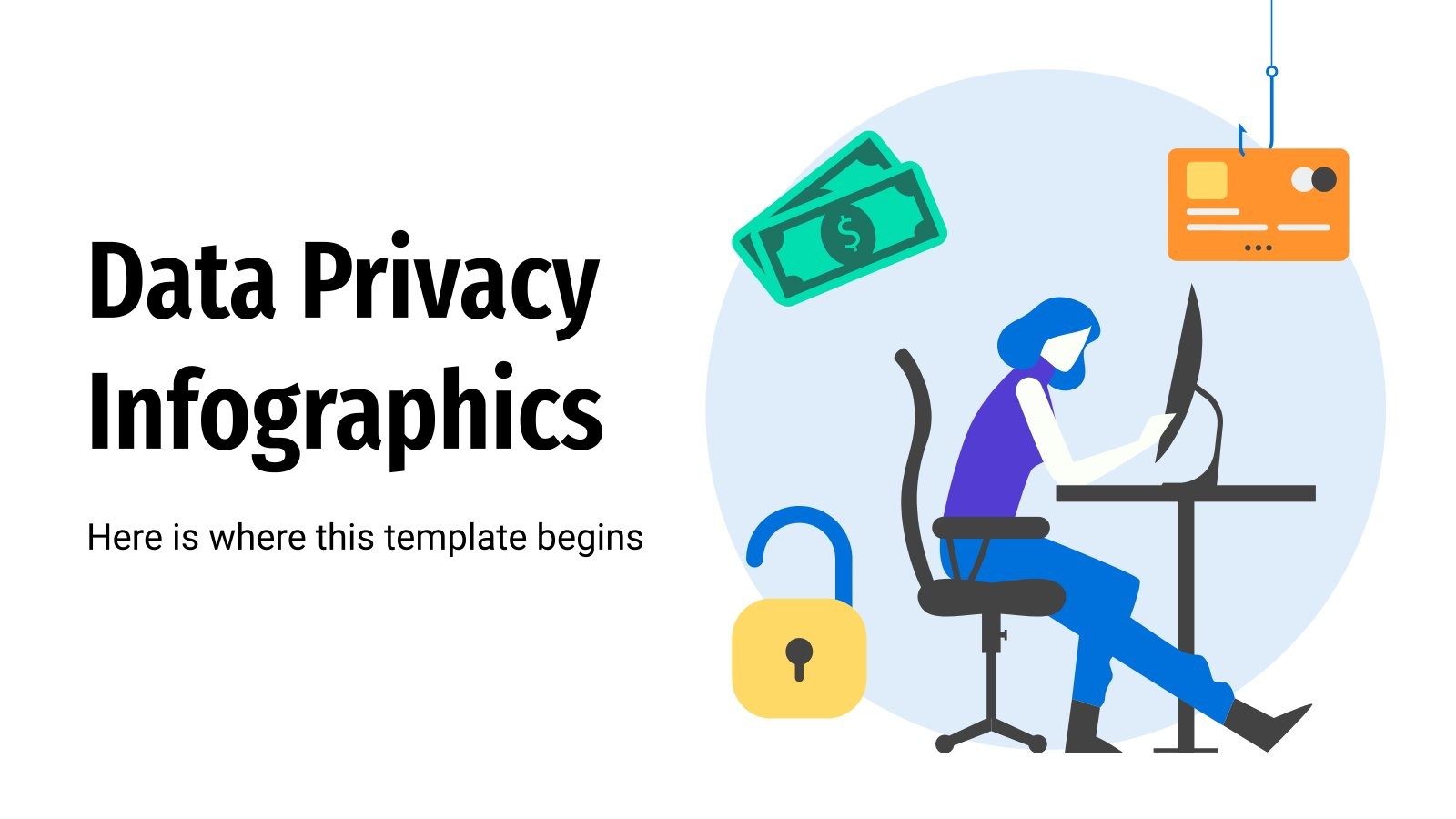 Data Privacy Infographics presentation template