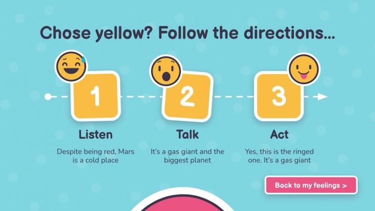 Behavior Management Choices for Pre-K presentation template