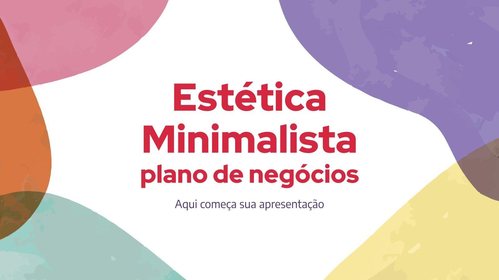 Business Plan: Minimalist Aesthetics presentation template