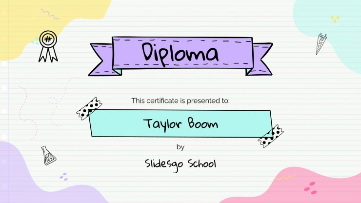 Team Building Class for Elementary presentation template