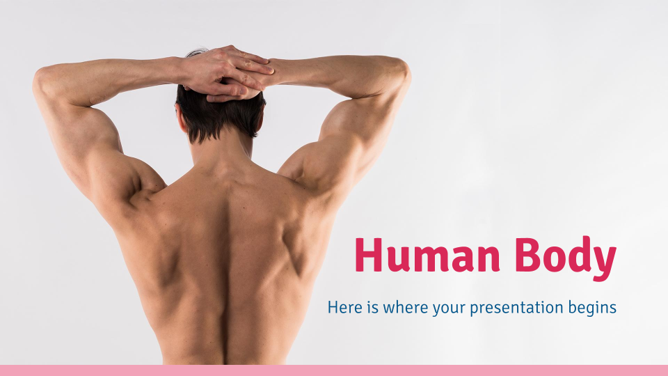 Human Body presentation template