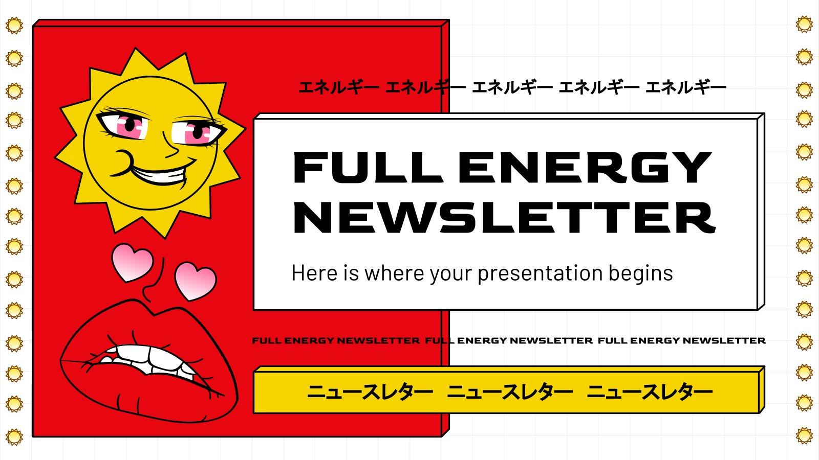 Le bulletin d'information au maximum ! : Modèles de présentation