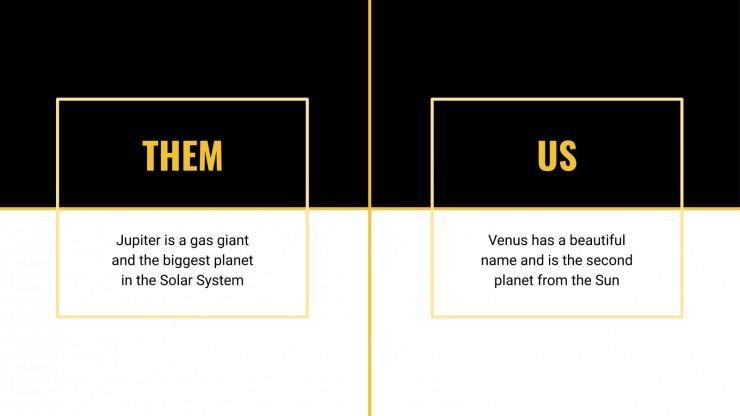 Pitch deck minimaliste : Modèles de présentation