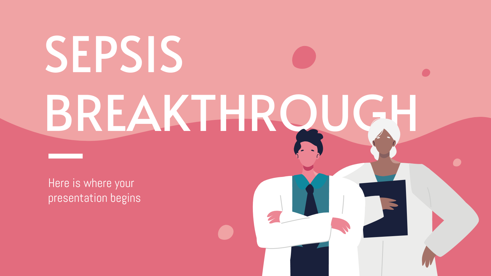 Sepsis Breakthrough presentation template