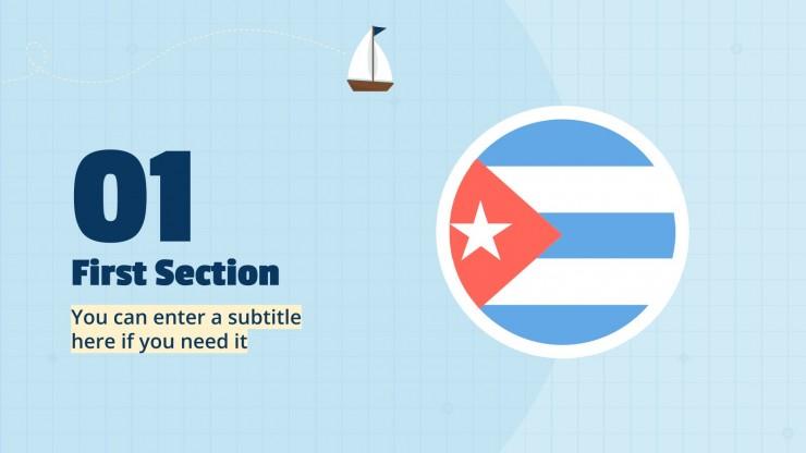 Plantilla de presentación Banderas del mundo
