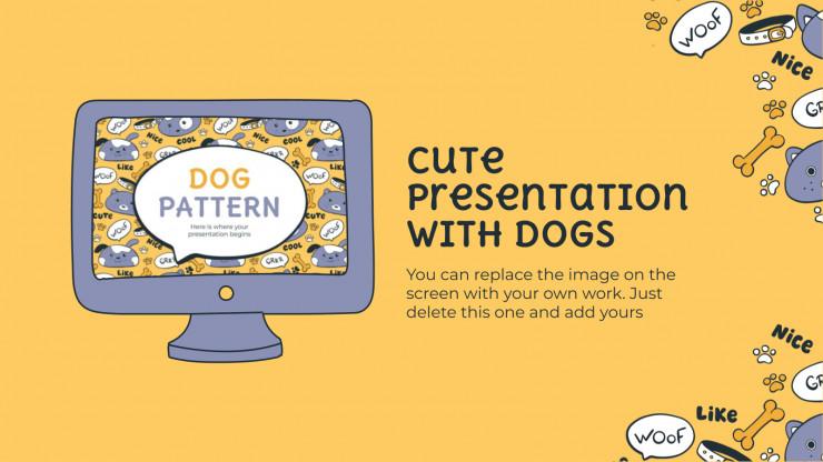 Modelo de apresentação Os cachorrinhos