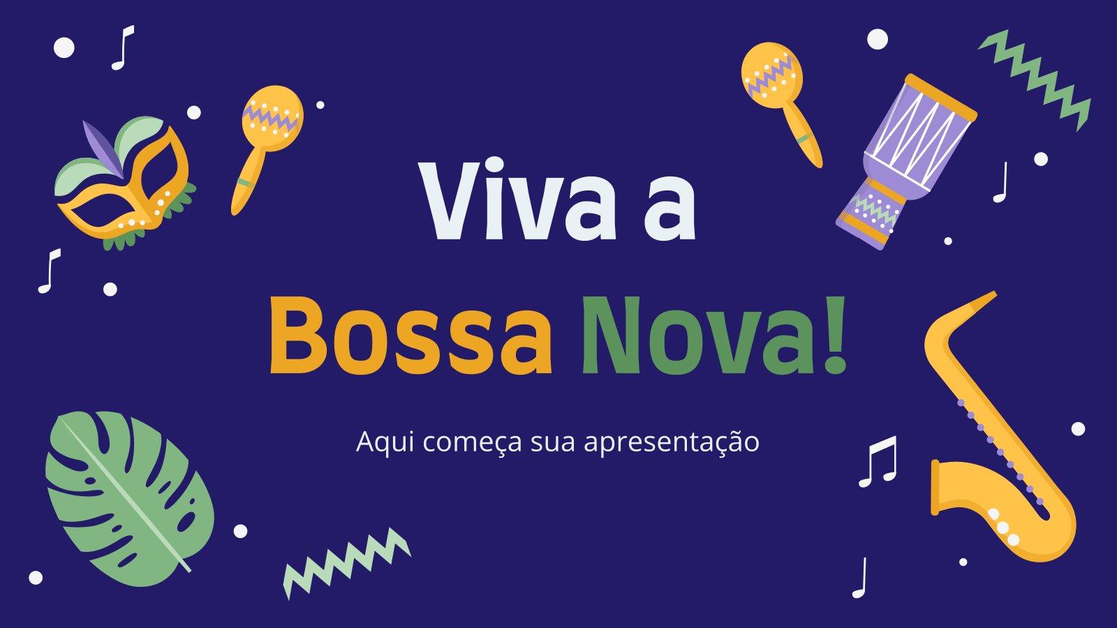 Minithème : La bossa nova est géniale : Modèles de présentation