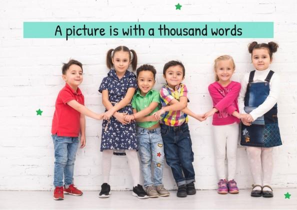 Jeux et phrases pour apprendre des mots : Modèles de présentation