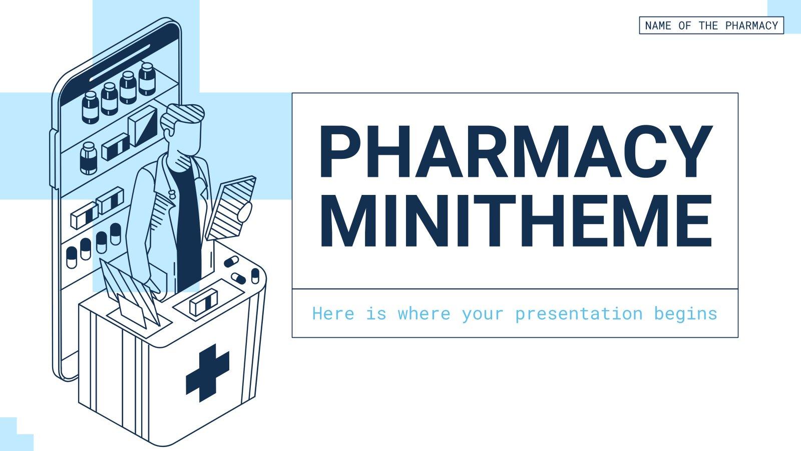 Pharmacy Minitheme presentation template