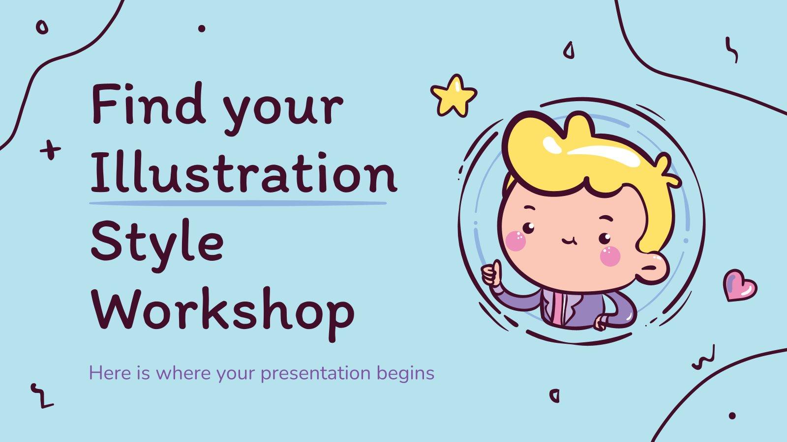 Atelier : Trouvez votre style d'illustration : Modèles de présentation