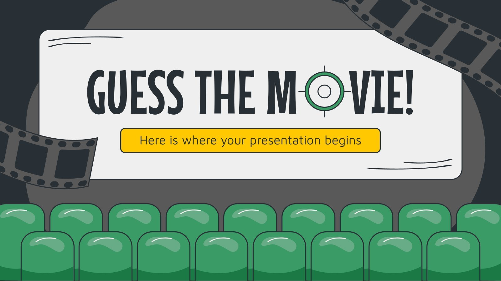 Devinez le film ! : Modèles de présentation
