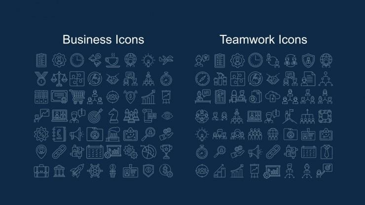 Creative Doodle Agency presentation template
