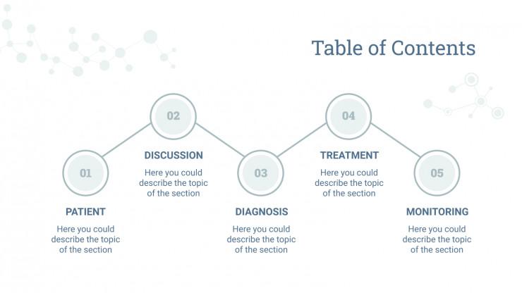 Plantilla de presentación Caso clínico de inmunología