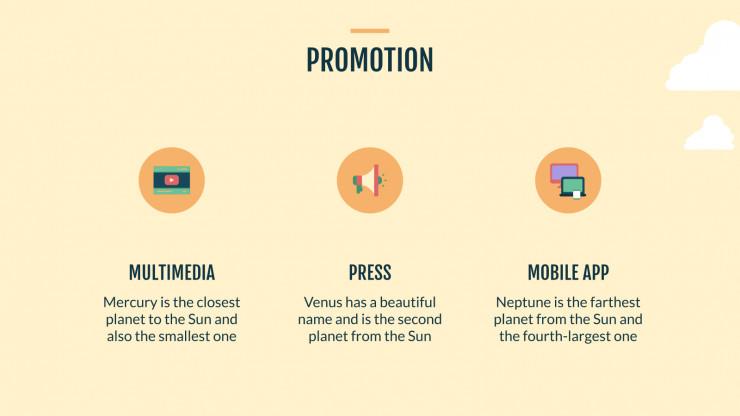 University Marketing Campaign presentation template