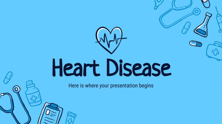 Plantilla de presentación Enfermedad cardiovascular