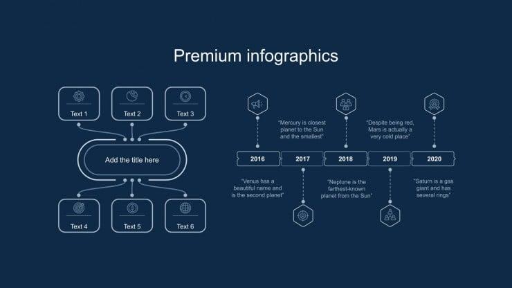 Minimalist Book Slideshow for Business presentation template