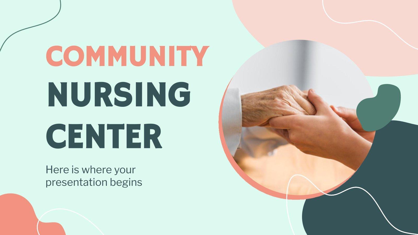 Community Nursing Center presentation template