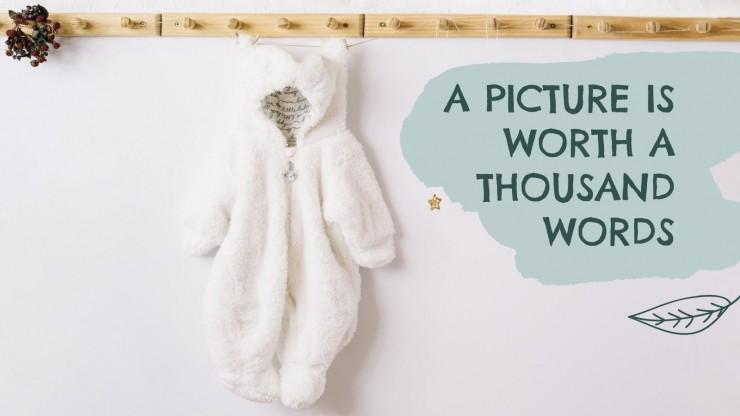 Newborn Baby Clothes MK Campaign presentation template