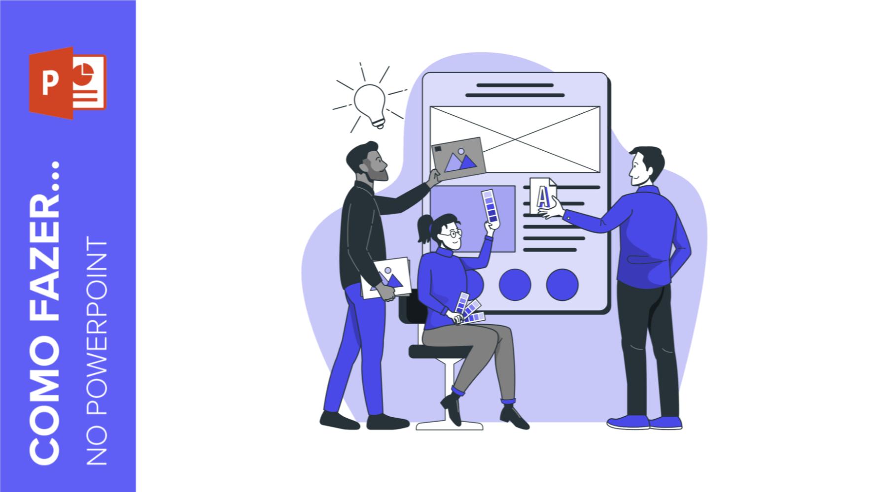 Como fazer um banner no PowerPoint | Tutoriais e Dicas de apresentação