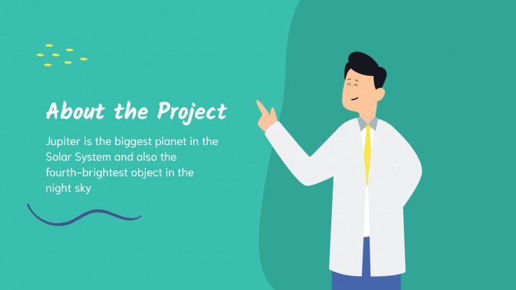 Plantilla de presentación Propuesta de proyecto Mink