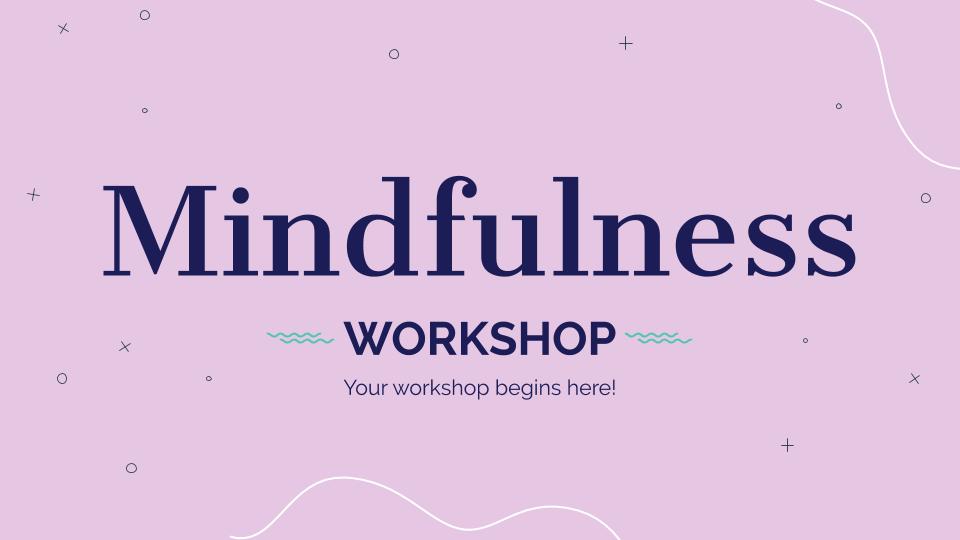 Plantilla de presentación Taller de mindfulness