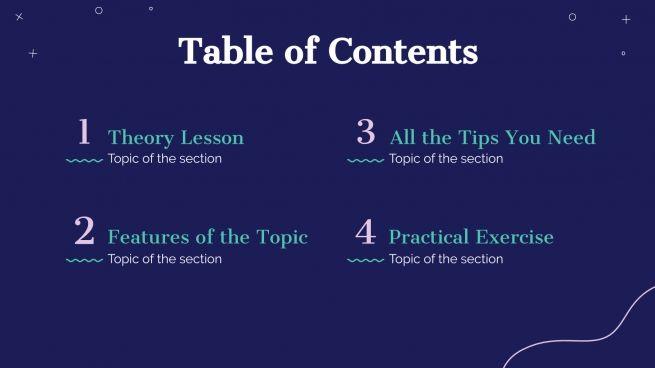 Mindfulness Workshop presentation template