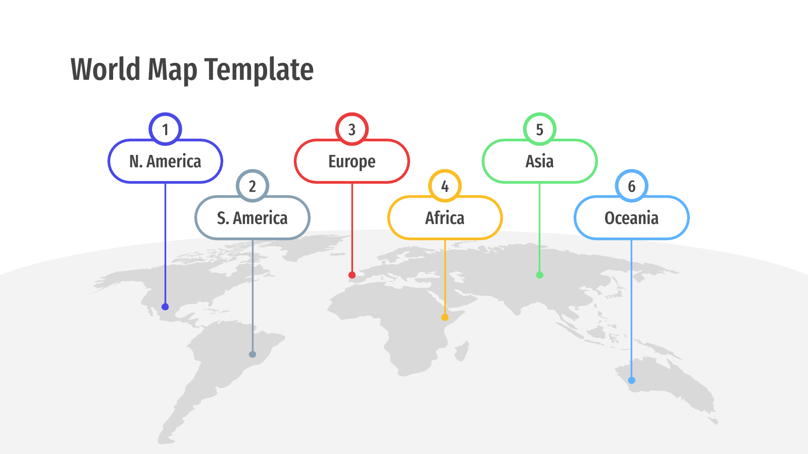 World Maps presentation template