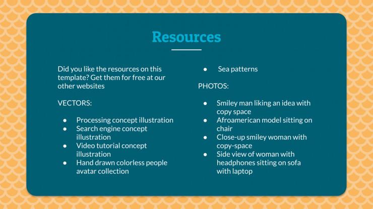 Chant de marin : Modèles de présentation