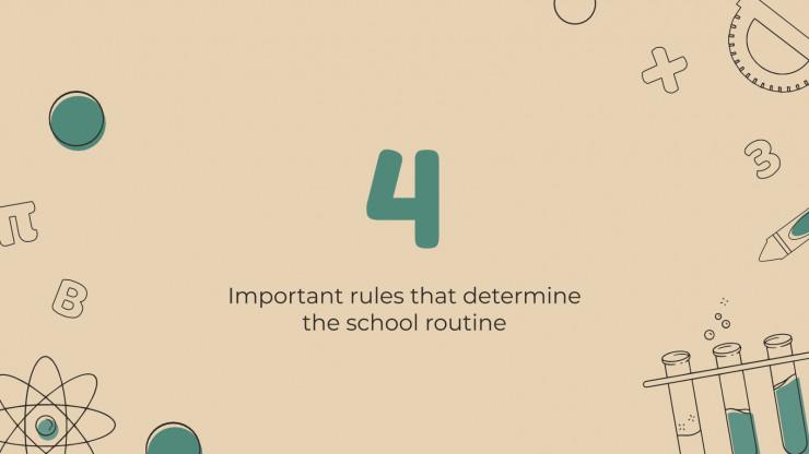 Plantilla de presentación Normativa escolar
