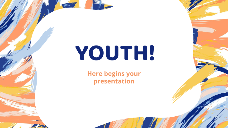 Plantilla de presentación Día de la Juventud