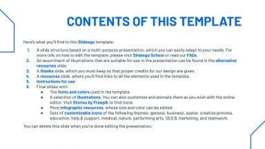 Simple Modern presentation template