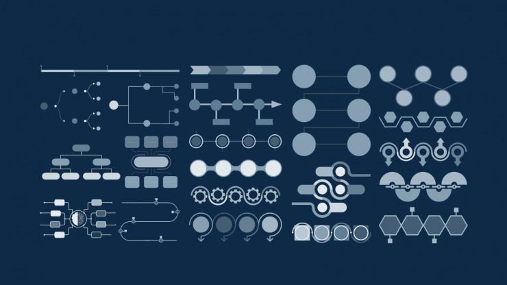 Modelo de apresentação Simples e moderno