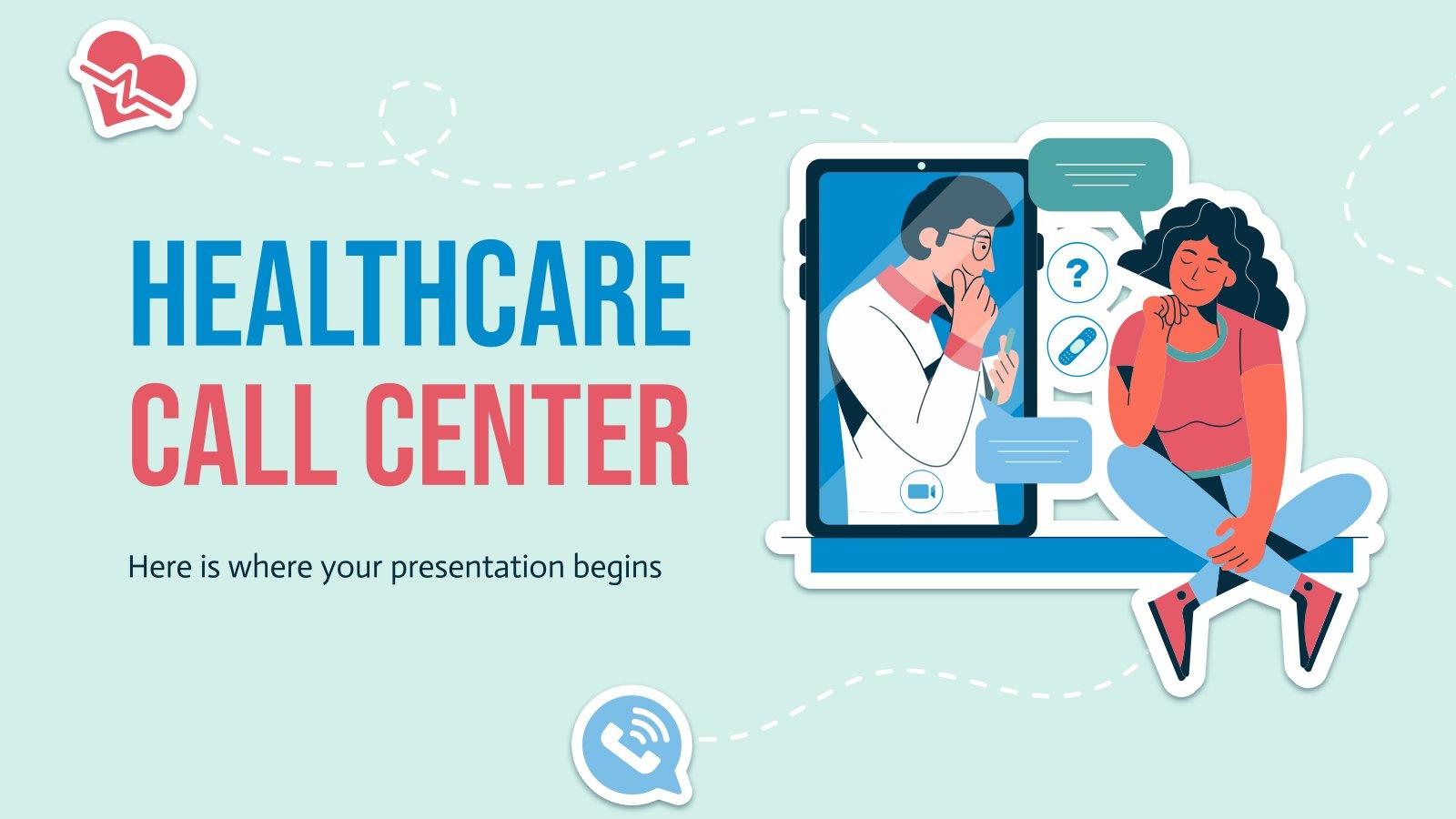 Centre d'appels de soins de santé : Modèles de présentation