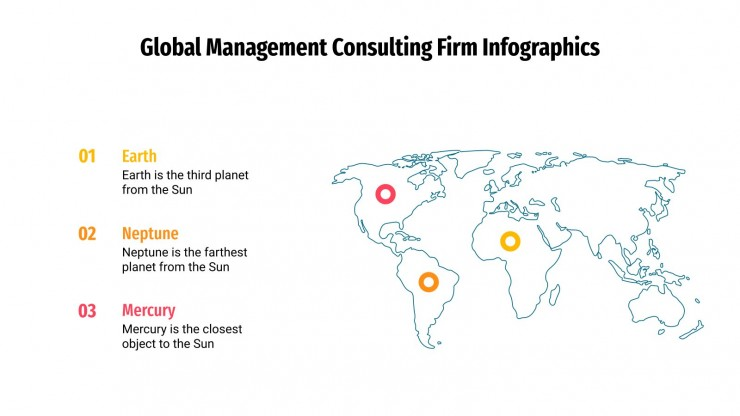 Global Management Consulting Firm Infographics presentation template