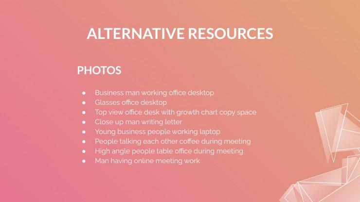 Accounting Company Profile presentation template
