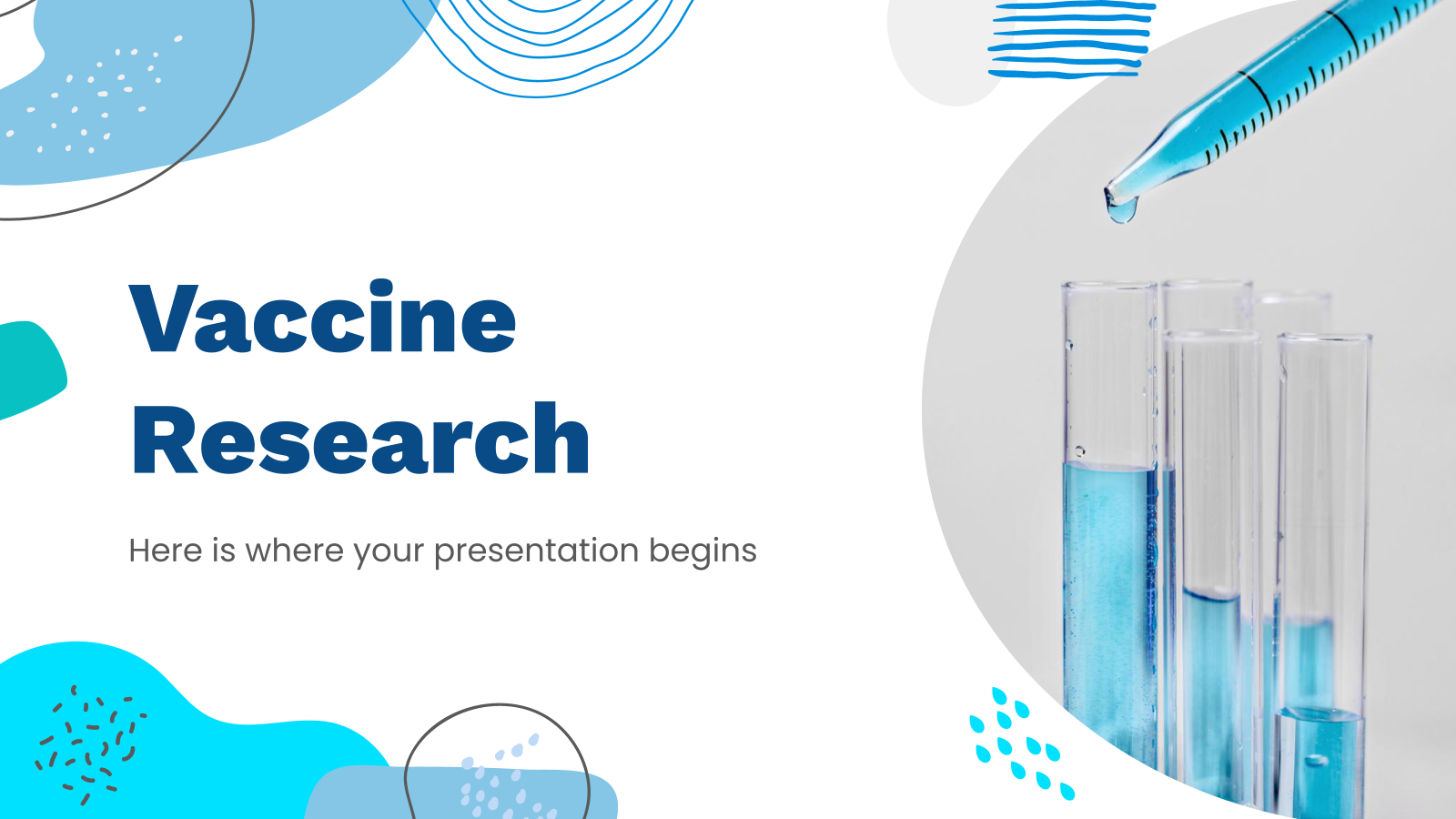 Vaccine Research presentation template