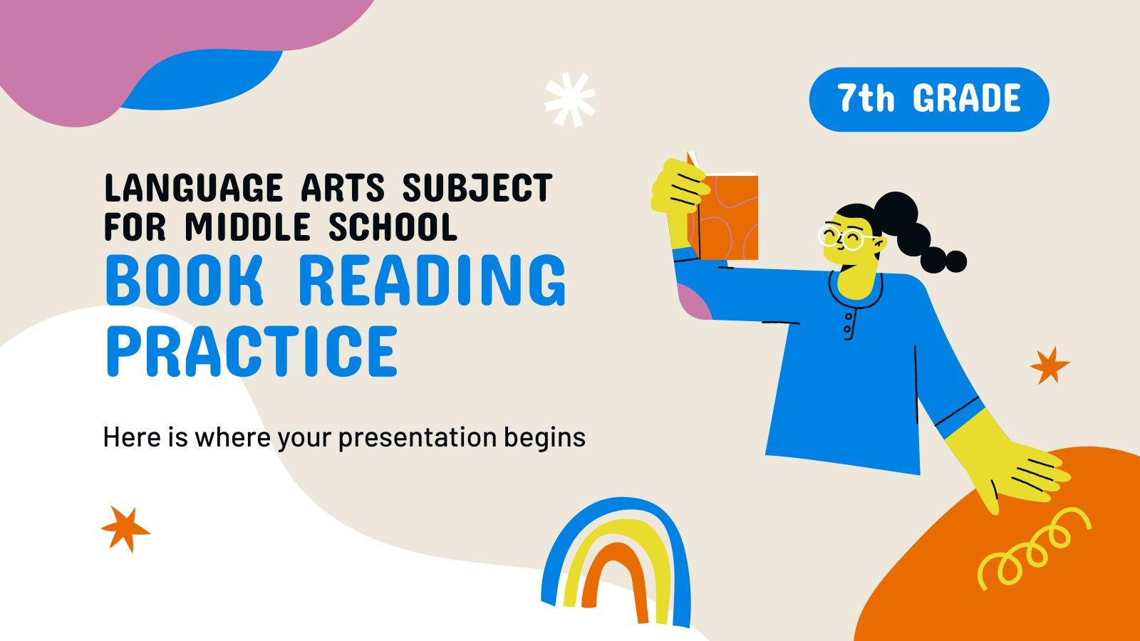 Cours de langue pour le lycée : Lecture de livres : Modèles de présentation