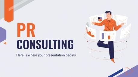 Services de conseils RP : Modèles de présentation