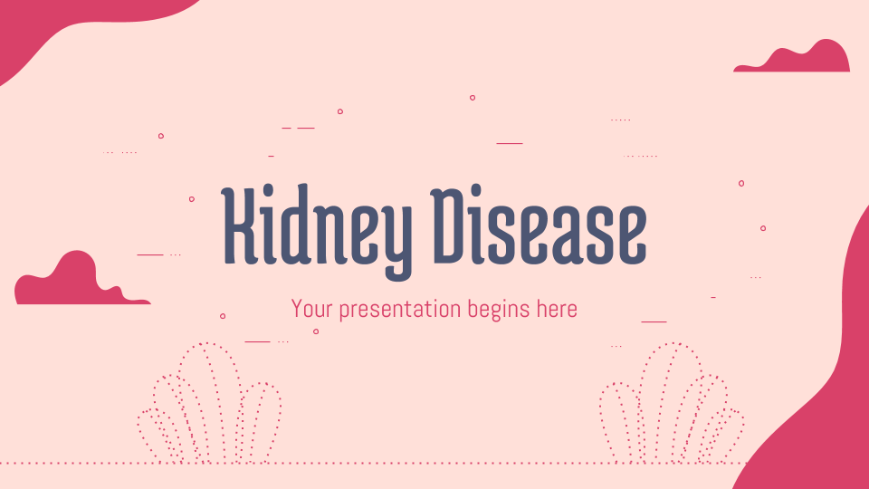 Kidney Disease presentation template