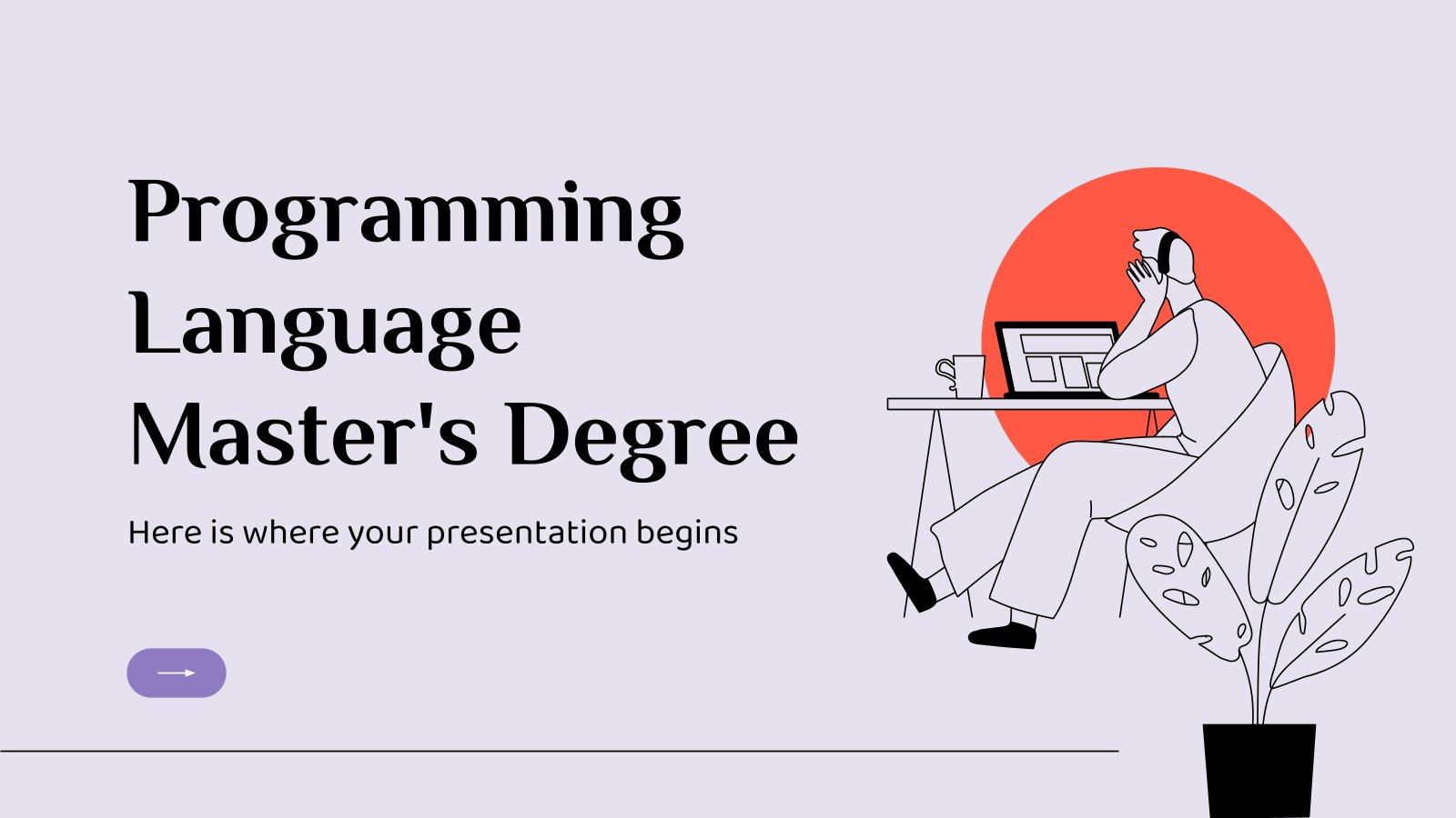 Modelo de apresentação Mestrado em Linguagens de Programação