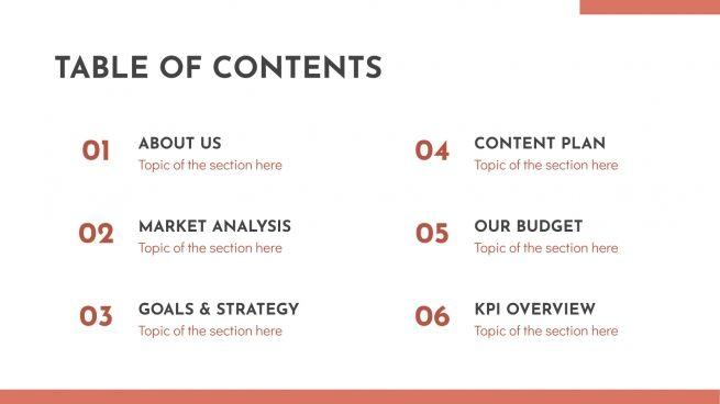 Elegant Campaign presentation template