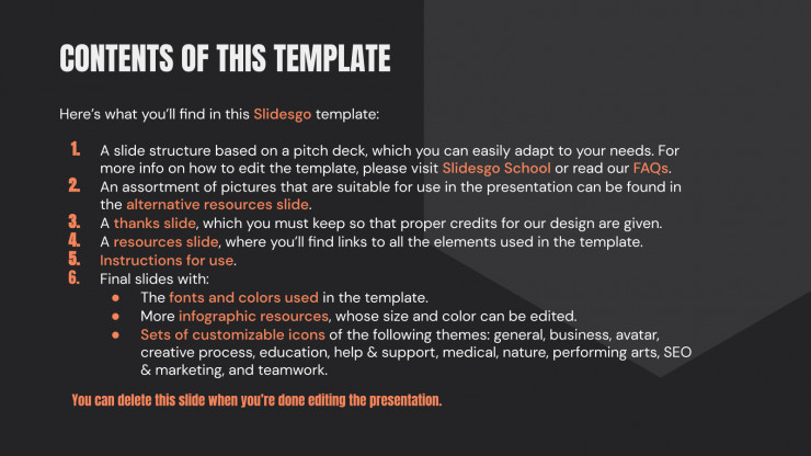 Pitch Deck d'application fitness : Modèles de présentation
