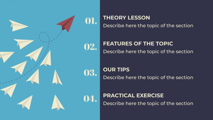 Become a Leader presentation template