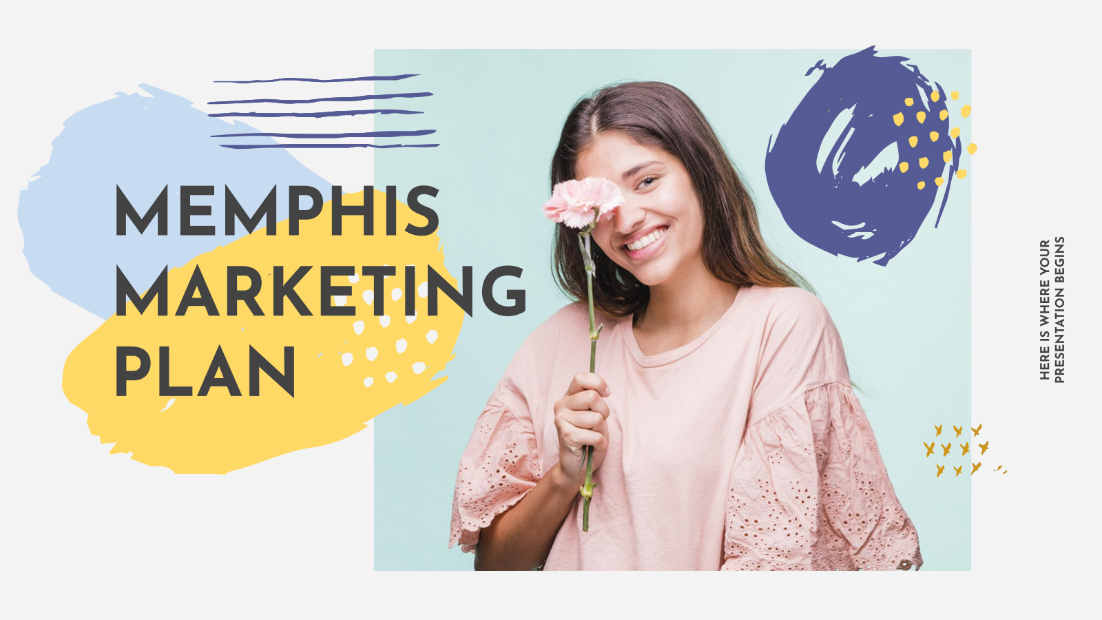 Memphis Marketing Plan presentation template