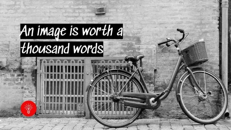 Fahre mit deinem Fahrrad Präsentationsvorlage