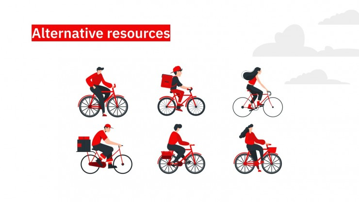 Ride Your Bike presentation template